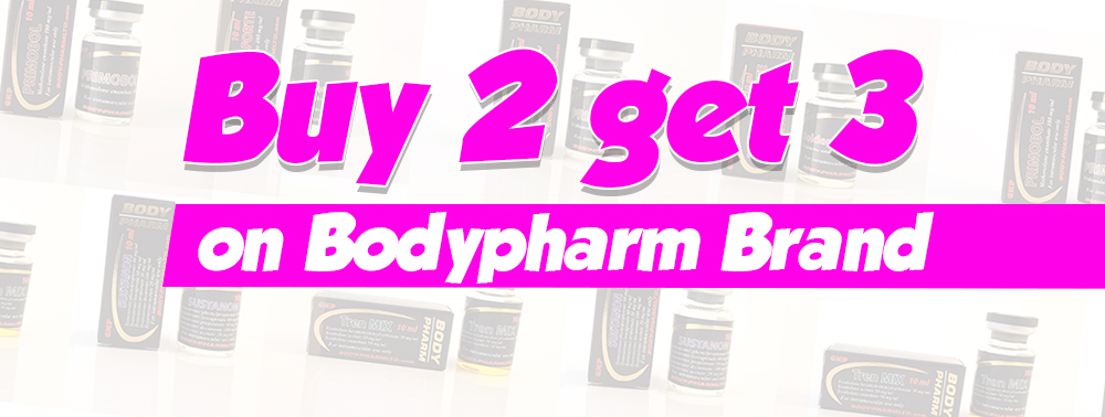 BodyPharm Buy 2 Get 3