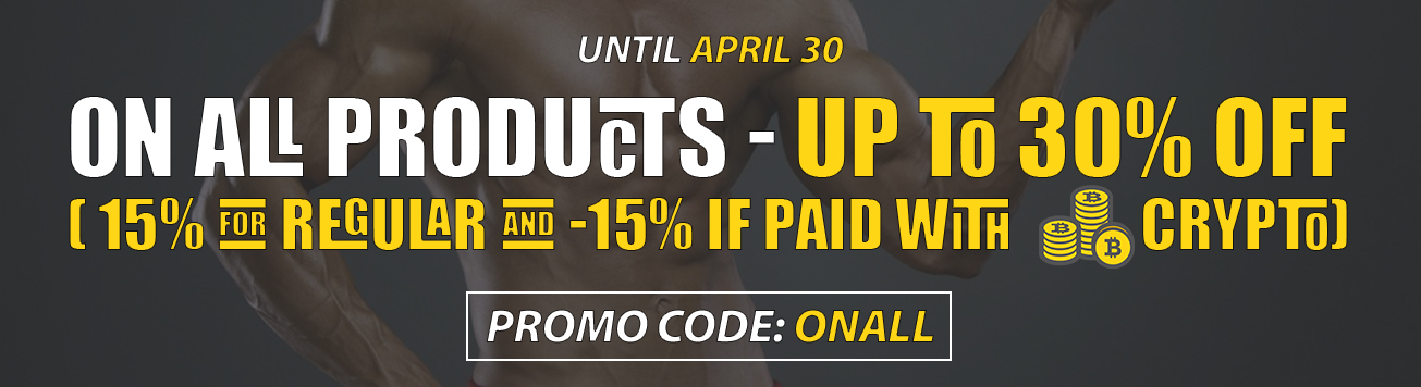 April Promo on all products
