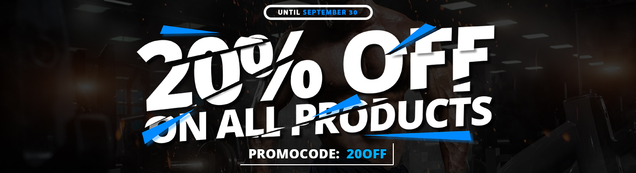 20% OFF on all products